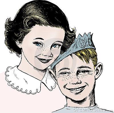 les-années-50-fille-et-garçon-de-cru-8211244