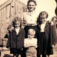 Les années 50 la maman